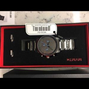 MVMT Black Men's Watch